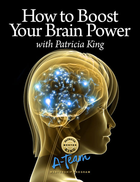 How To Boost Your Brain Power Digital Download - Patricia King