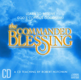 Commanded Blessing  CD / MP3 Download by Robert Hotchkin