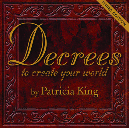 Decrees To Create Your World   MP3 Download by Patricia King