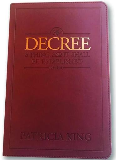 Decree Book - Luxe Edition by Patricia King