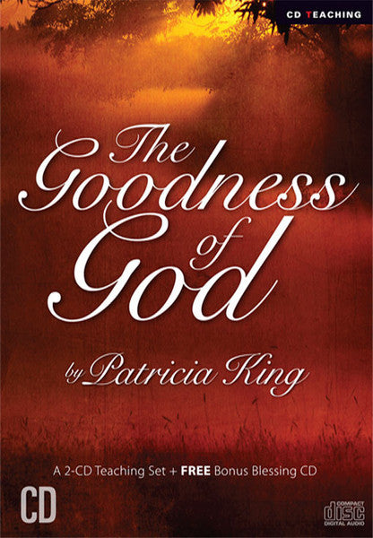 Goodness of God   CD Set / MP3 Download by Patricia King