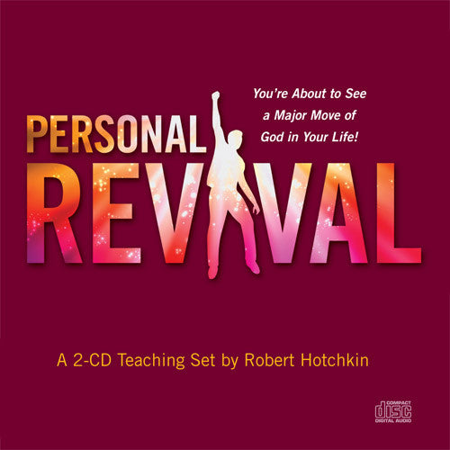 Personal Revival - CD/MP3 Download by Robert Hotchkin