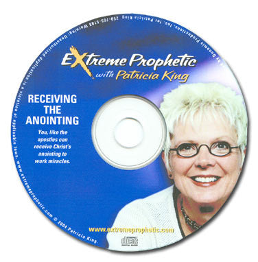 Receiving the Anointing - MP3 by Patricia King