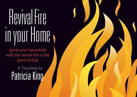 Revival Fire In Your Home - MP3 Download/CD Set by Patricia King