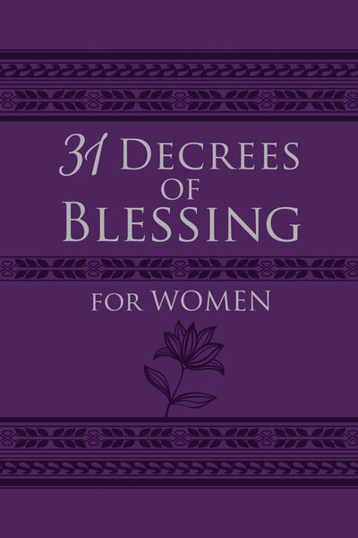31 Decrees of Blessing for Women Book - Patricia King