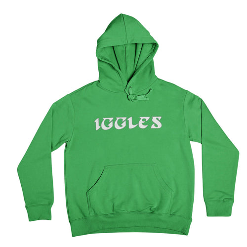 philadelphia eagles iggles green hooded sweatshirt from phillygoat