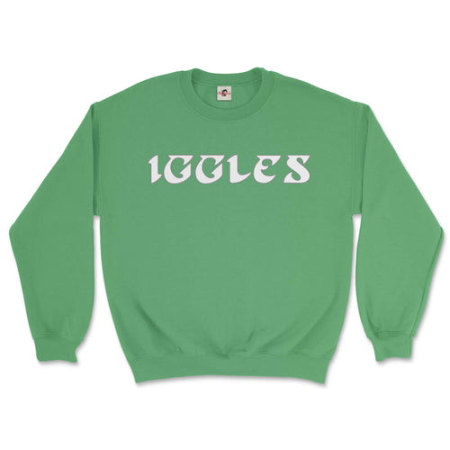 philadelphia eagles iggles green sweatshirt from phillygoat