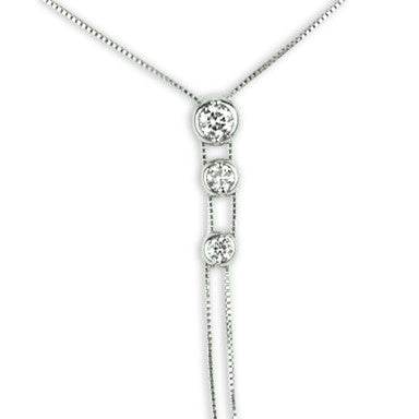 White Gold Diamond Pendant with 1/2 Carat Total Weight