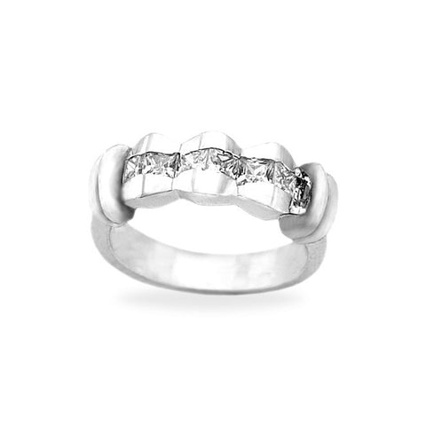 Wedding Rings for Women Princess Cut