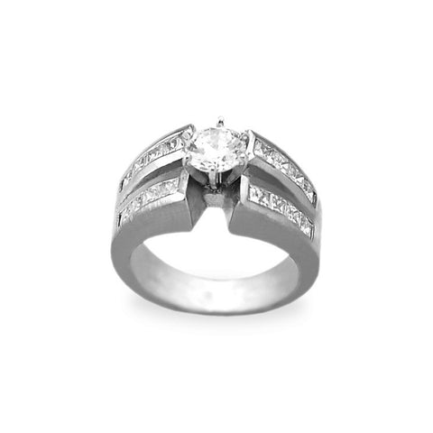 Unique Princess Cut Engagement Rings