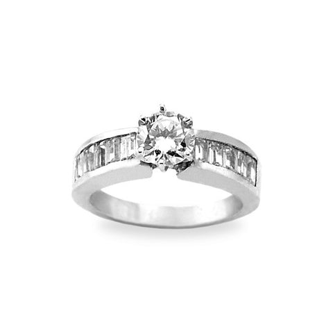 Hand Engagement Ring