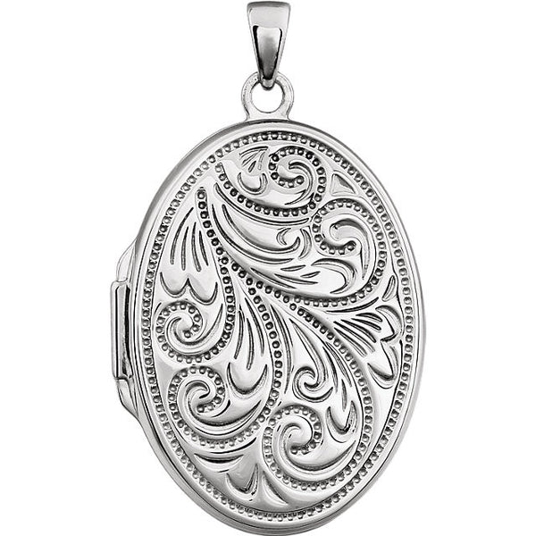 Locket in Sterling Silver