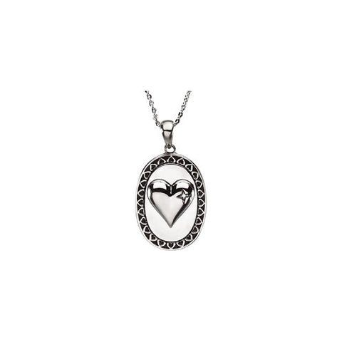 Love Necklace in Sterling Silver