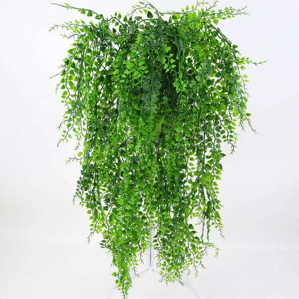 Artificial Hanging Plants Ivy Vine Fake Leaves Greeny Chain Wall Home Room Garden Wedding Garland Outside Decoration Fake Vine