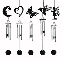 Qianyun Home & Garden Decoration Crafts Wind Chimes & Hanging Decorations Door Wall Hanging Home Decor Metal Bells Creative Gift