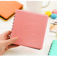 68Pockets Mini Instant Polaroid Photo Album Picture Case for Fujifilm Instax Mini Film 7s 8 25 50s 90 instax mini Polaroid album