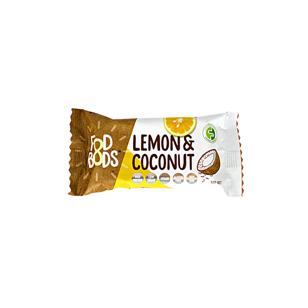 Fod Bods Lemon & Coconut on Oh My Guts NZ
