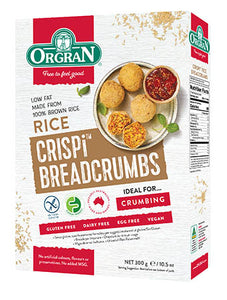 Low FODMAP rice crispi breadcrumbs on Oh My Guts