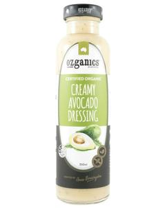 Ozganics Creamy Avocado Dressing 350ml