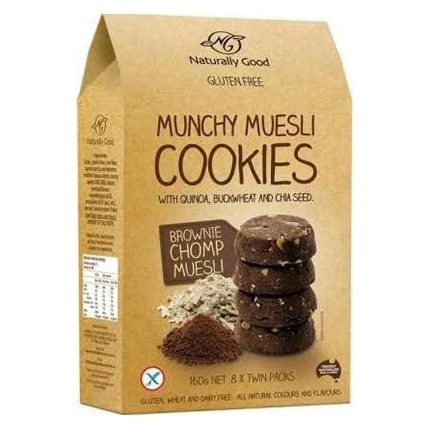 Munchy Muesli Cookies Brownie Chomp 160g
