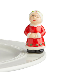 Nora Fleming Mrs Claus Mini
