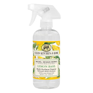 Michel Design Works Lemon Basil Multi-Surface Cleaner