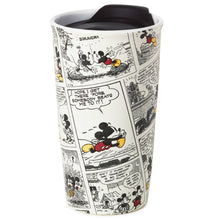 Load image into Gallery viewer, Hallmark Disney Mickey Mouse Comic Strip Travel Mug, 10oz.