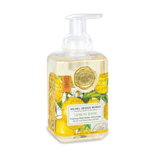 Load image into Gallery viewer, Michel Design Works Lemon Basil Foaming Hand Soap