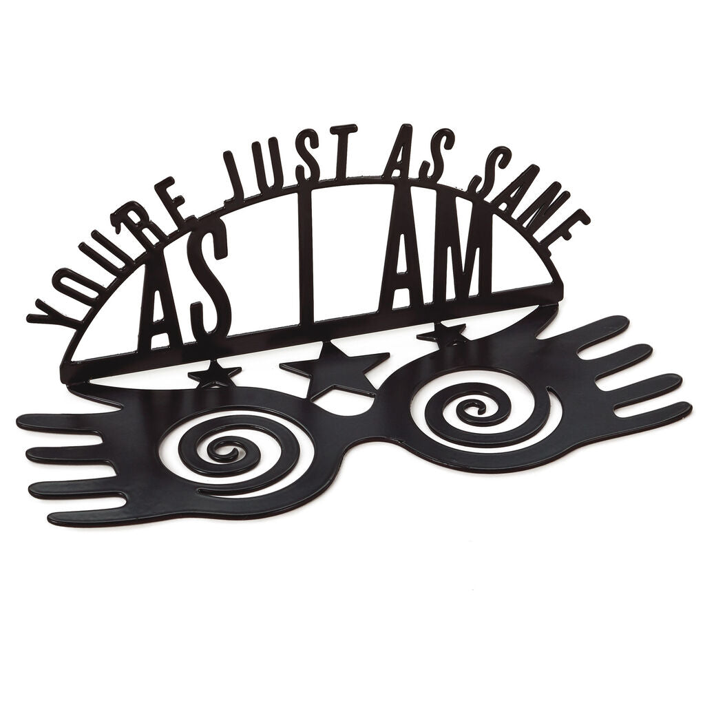 Hallmark Harry Potter™ You're As Sane As I Am Metal Quote Sign, 8.5x3.25