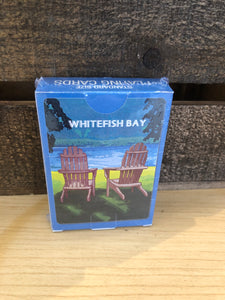 Whitefish Bay Playing Cards - Adirondack Chair