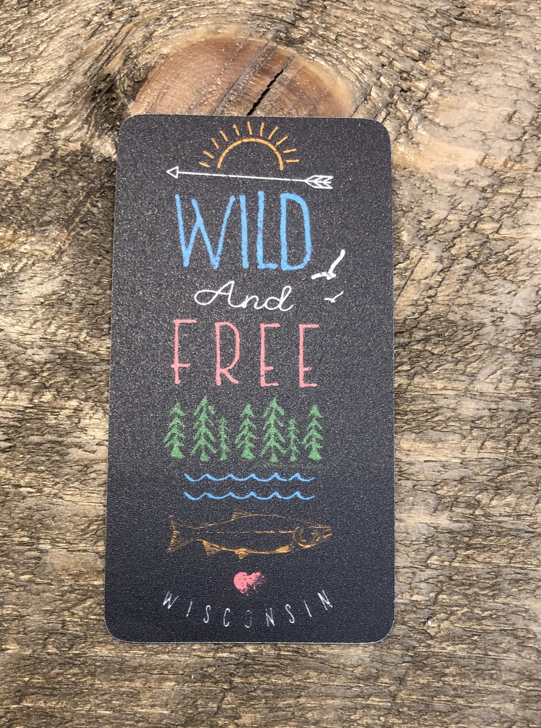 Wild and Free Wisconsin Decal