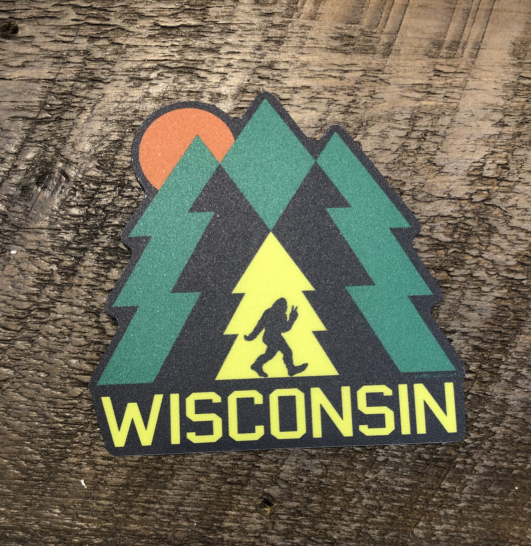 Wisconsin Yeti Decal