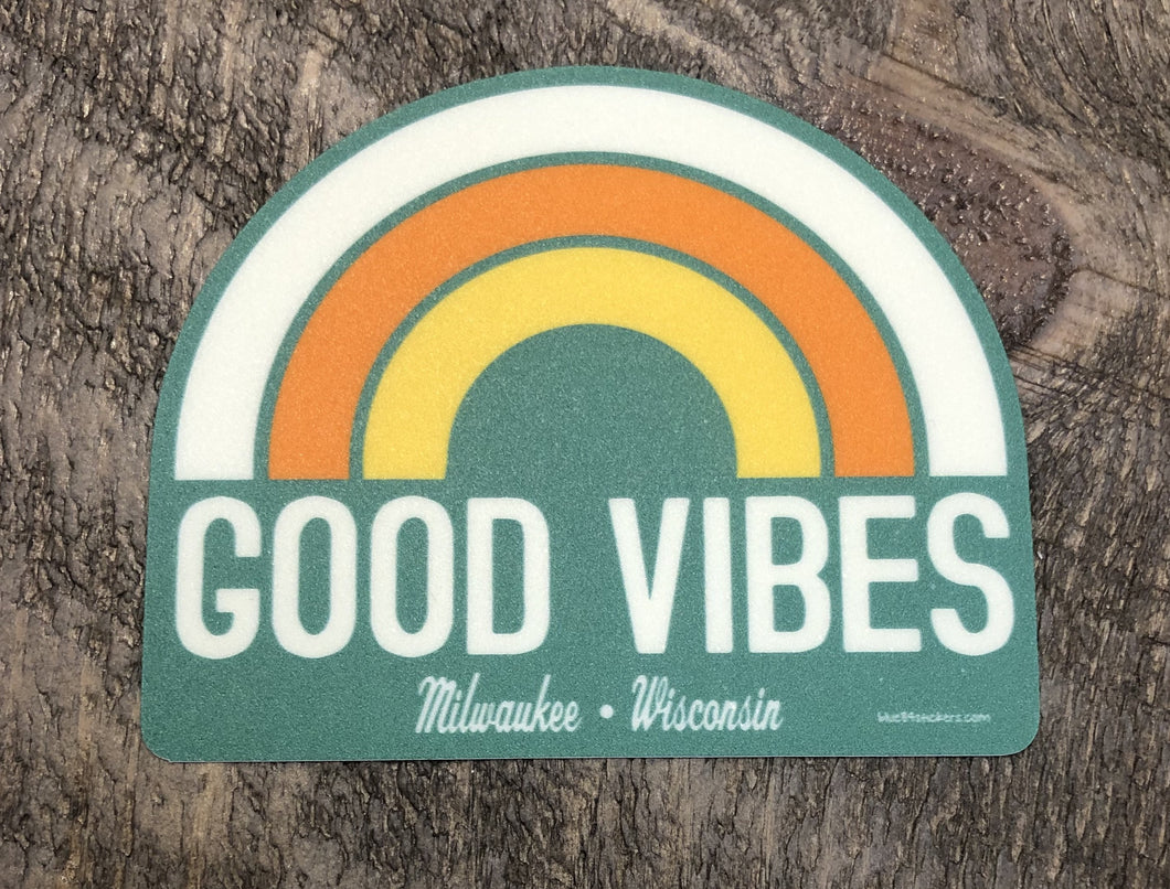 Good Vibes Milwaukee, WI Decal