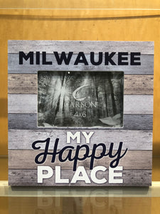 This is My Happy Place Milwaukee Frame