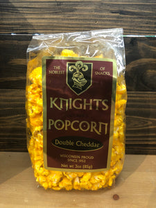 Knight's Popcorn Double Cheddar 3 oz