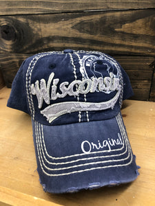 Robin Ruth Wisconsin Original Cap - Blue