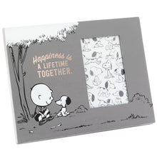 Load image into Gallery viewer, Hallmark Peanuts Happiness Together Picture Frame, 4x6