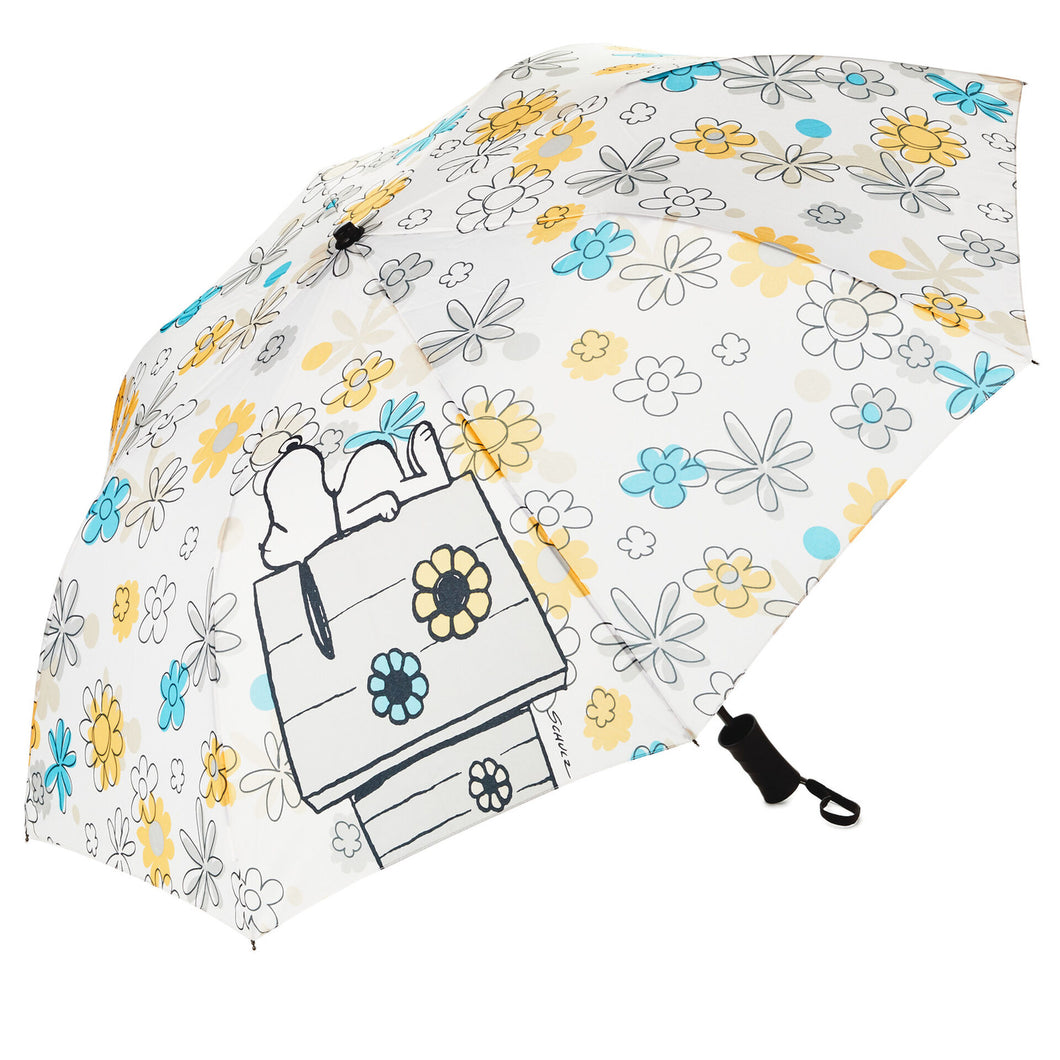 Hallmark Peanuts Snoopy Flowers Umbrella
