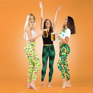 Two Left Feet Get Lucky Women's St. Patrick's Day Leggings