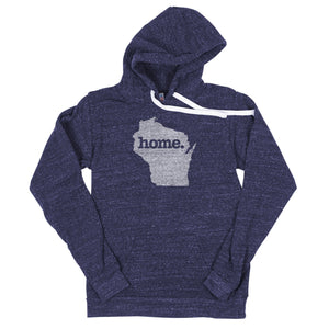 Home State Apparel Wisconsin Hoodie - Heather Charcoal