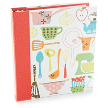Load image into Gallery viewer, Hallmark Retro Recipe Organizer Binder