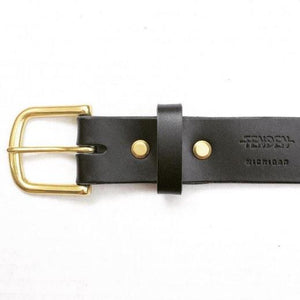Tenden Simple Belt: Black