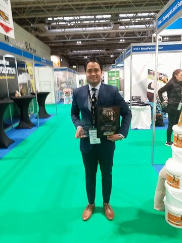 Rish wins innovation award at BETA trade fair