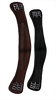 Curved dressage girth