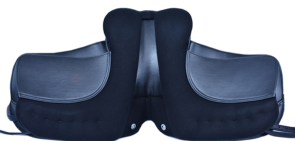 HM FlexEE Finale dressage saddle underside (black)