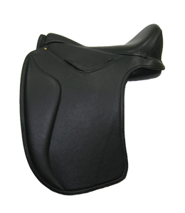 HM Vogue Dressage saddle in black