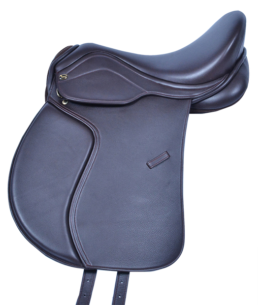 HM FlexEE Finale GP saddle in havanna