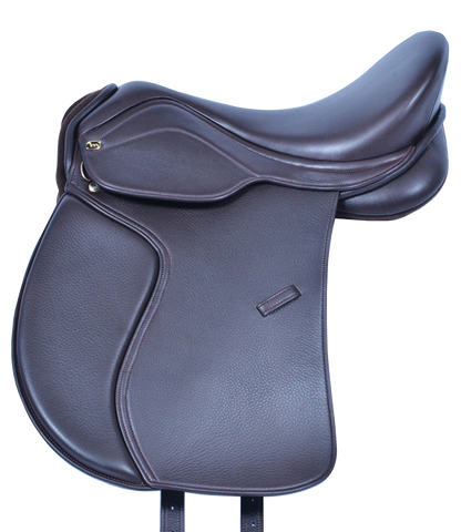 HM FlexEE Finale VSD saddle in havanna