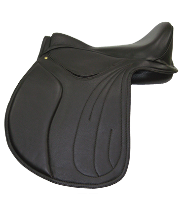 HM Vogue Deluxe VSD saddle in black