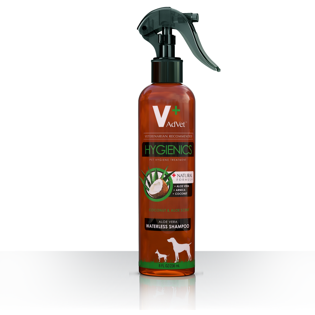 8oz. Aloe Vera Waterless Shampoo Spray